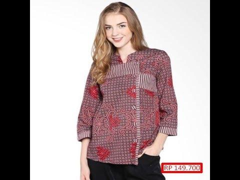 ッ 25 Desain Baju Batik Modern Casual - Galeri Batik ...