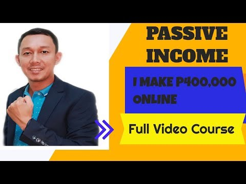 Passive Income: How I Make P400,000 Sa Online Without Investment | Step by step Full Video Tutorial