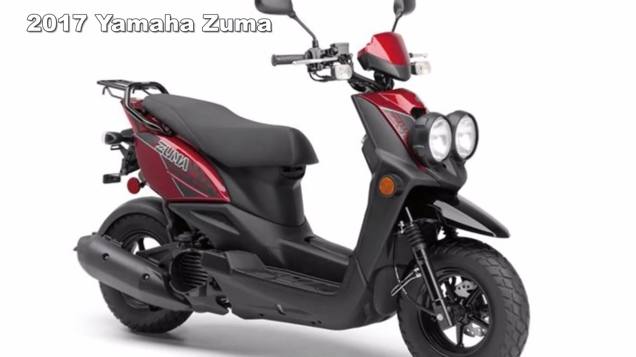 2017 yamaha zuma 125 50f and 50fx scooter walkaround youtube. Black Bedroom Furniture Sets. Home Design Ideas