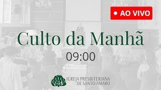 04/07 | Culto da Manhã 9h - Rev. Leandro Lima (Ao Vivo)