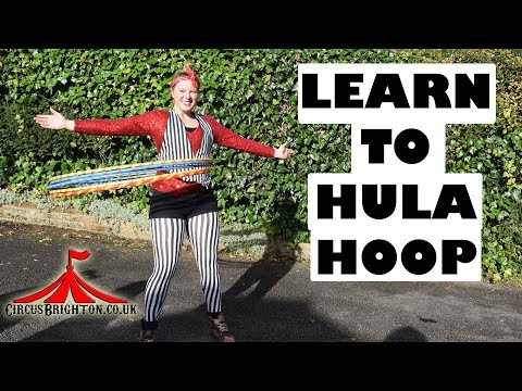 Hooping Beginner Course Starts!  |  Learn hula hooping with Circus Brighton