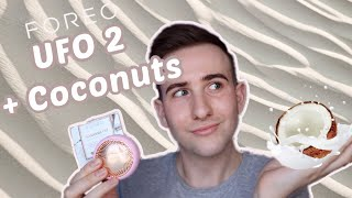 Foreo UFO 2 Coconut oil mask  farm to face collection review and UFO first impressions