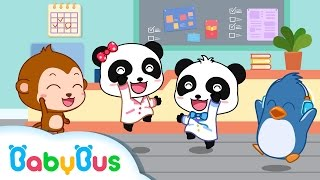 Little Doctors | Nursery Rhymes | Kids Songs | BabyBus| baby panda