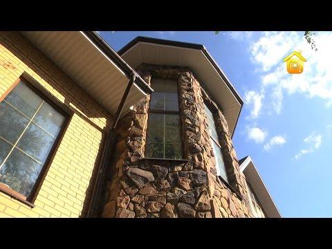 Кирпичный дом с оранжереей для большой семьи // FORUMHOUSE