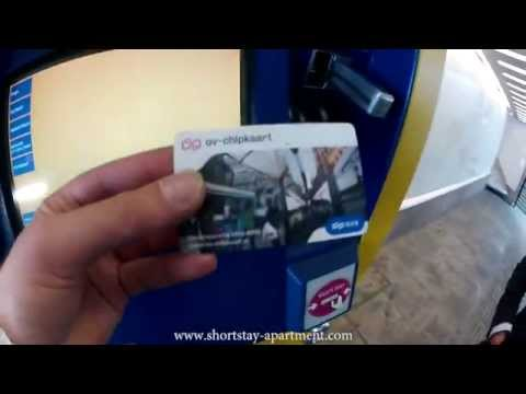 Amsterdam Public Transit Chip OV Card - www.shortstay-apartment.com