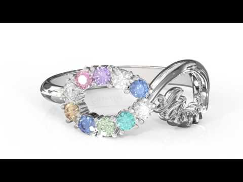 Personalized Jewelry: Mom Ring