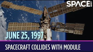 OTD in Space – June 25: Spacecraft Collides With Module