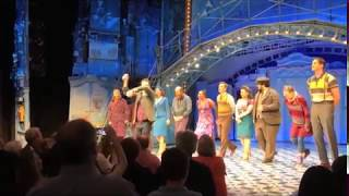 The cast of Amelie on Broadway takes their final bows, May 21, 2017