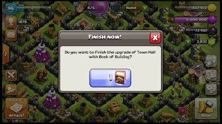 TH8 to TH9/ USING BOOK OF BUILDING/ CLASH OF CLANS