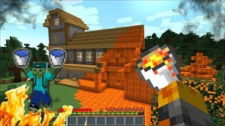 MC NAVEED AND MARK FRIENDLY ZOMBIE PLAY TRUTH AND DARE !! SURVIVAL CHALLENGE !! Minecraft