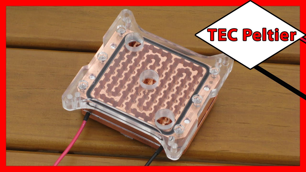 ⚡️ Thermoelectric Cooling Tec Peltier Water Block For