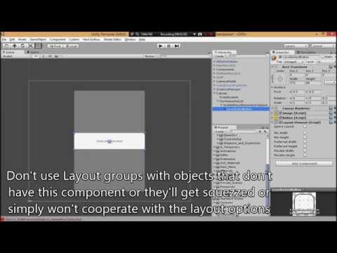 Unity UI Tutorial - How to make a scrollable list