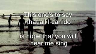This one's for you lyrics and music from Manilow