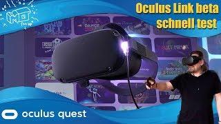 Oculus Link beta ._. erster Test / deutsch