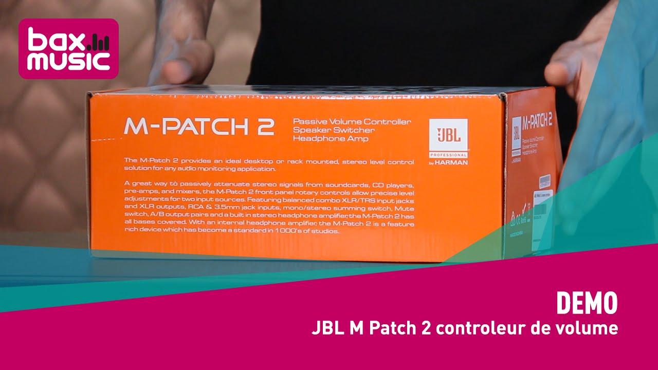 JBL MPatch 2 Monitor Controller Stereo Passivo