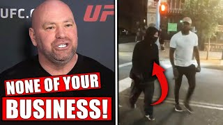 Dana White ARGUES with radio host!...Jon Jones vacates LHW title, Woodley on loss to Gilbert Burns