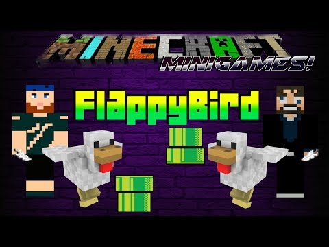 Minecraft Minigames | Flappy Bird | Concentration Mode Initiated