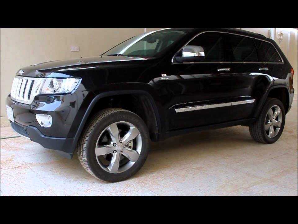 Cherokee For Less >> تجربة قراند شيروكي اوفرلاند 2012 - YouTube