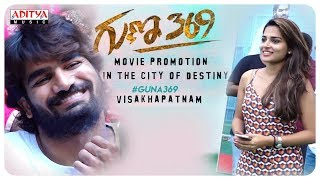 Guna 369 Movie Promotion Vignan College Vizag Karthikeya Anagha Chaitan