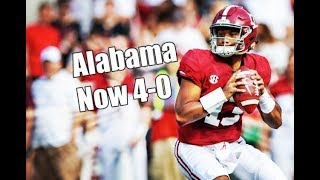 Alabama Crimson Tide Football: Call in Show with Kyle Henderson, Crimson Tide now 4-0