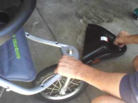 Babytrend Stroller wheel wobble fix