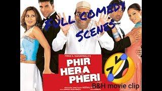 PHIR HERA PHERI MOVIE COMEDY SCENES |  Akshay Kumar, Sunil Shetty, Paresh Rawal | FULL HD |