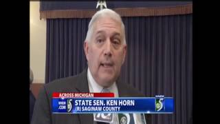 Sen. Horn discusses brownfield development legislation on WNEM