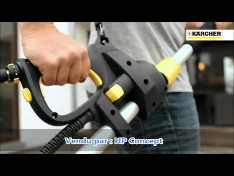 Lance t lescopique 4m karcher hp concept youtube - Lance pour karcher ...