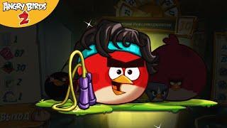 52# АЭРОБИКА  Новый комплект шляп в Angry Birds 2  Игра про Злых Птичек Энгри Бердс