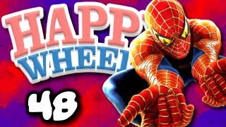 Happy Wheels w/ ChimneySwift11 #48 - The Amazing Spider-Man (HD)