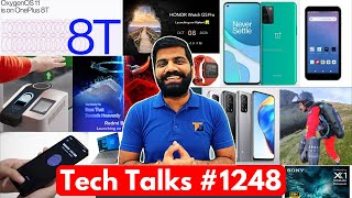 Tech Talks #1248 - Jio Orbic Free?, Sony 8K TV, OnePlus 8T Android 11, Amazon Palm Payment, Mi 10T