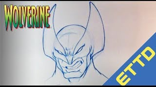 How to Draw Wolverine from XMen - Easy Things To Draw