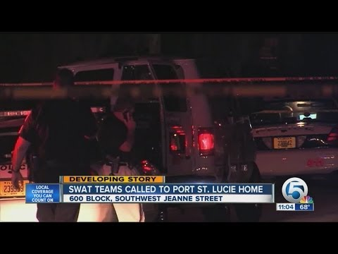 SWAT teams called to Port St. Lucie