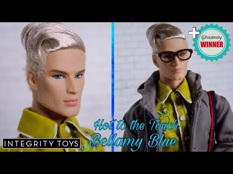 Integrity Toys: Hot to the Touch Bellamy Blue (The Industry: Lovesick Collection) UNBOXING & REVIEW