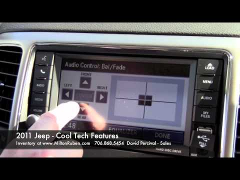 2011 Jeep - Cool Tech Features