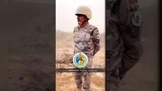 شاهدوا تبادل إطلاق النار بين مهربين وحرس الحدود
