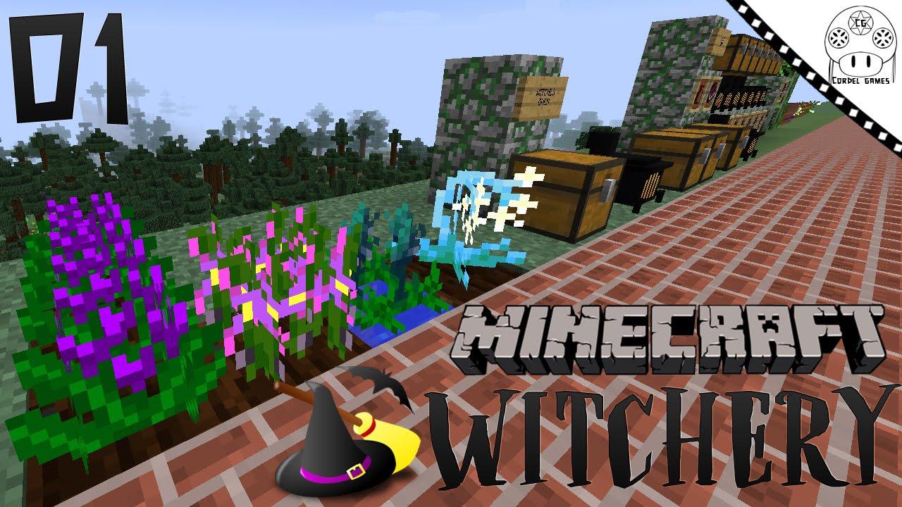 Tutorial Witchery - #1 Primeiros Passos [MINECRAFT MOD WITCHERY]