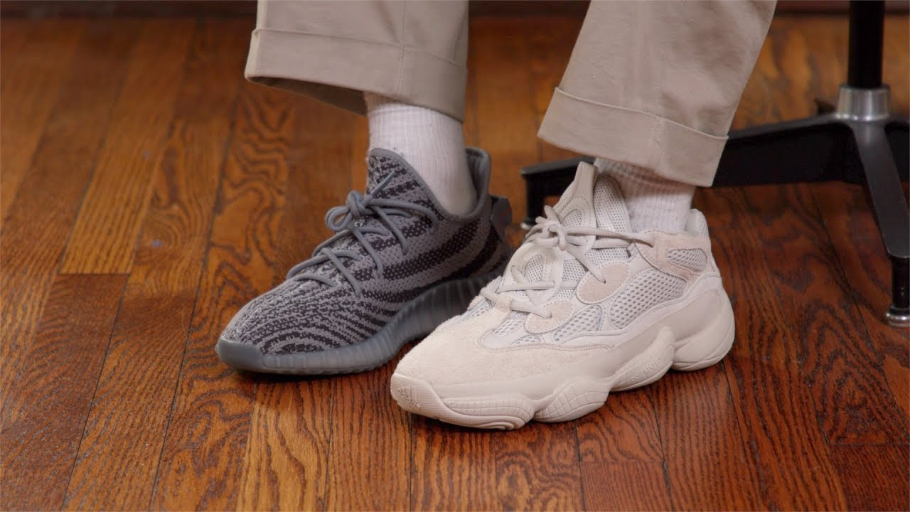 How Comfortable Is The Yeezy 500 Youtube