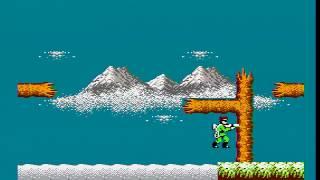 Bionic Commando (NES) any% speed run in 15:13