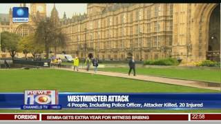 Repeat youtube video Westminster Attack: 4 People, Including Police Officer, Attacker Killed, 20 Injured