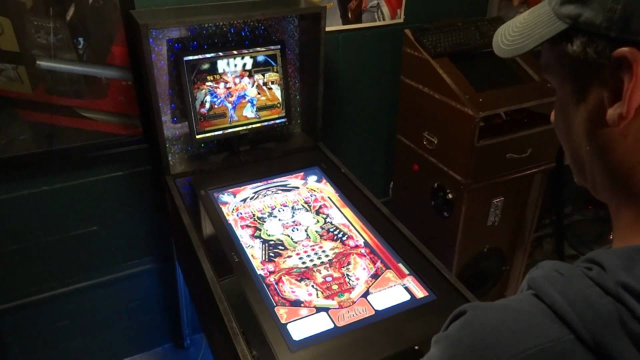 DIY Visual Pinball Cabinet Gameplay - YouTube