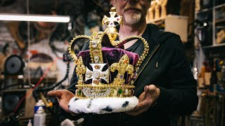Adam Savage's One Day Builds: The Crown from Hamilton!