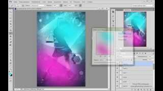 Урок Adobe Photoshop #19 | Иллюстрация с гео-ми фигурами