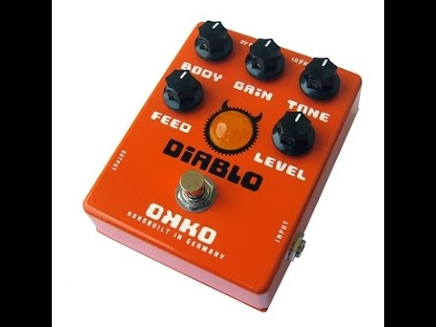 Okko Diablo overdrive pedal - detailed specification and review on