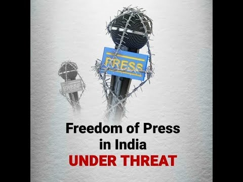 Freedom of Press in India Under Threat