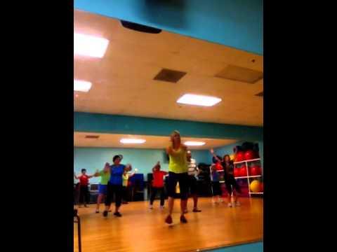 Zumba Gold fitness class with Jackie  La Suavecita.