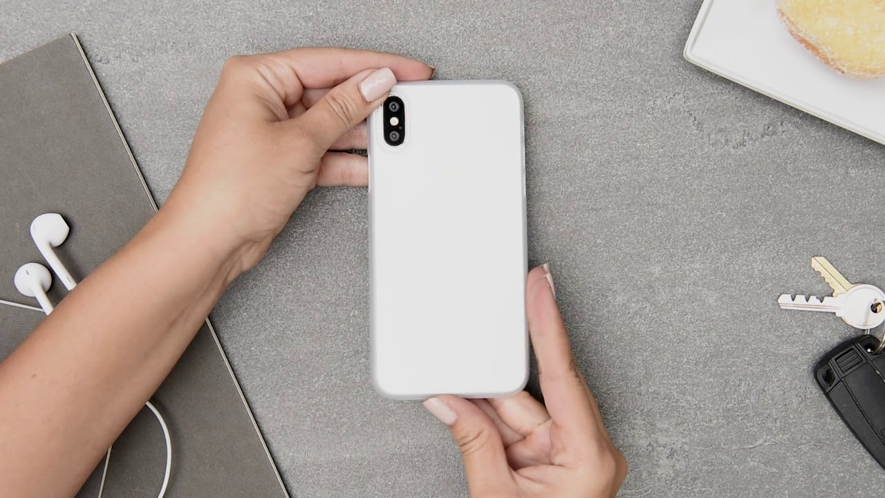 ultra thin iphone x cases by totallee silver iphone. Black Bedroom Furniture Sets. Home Design Ideas