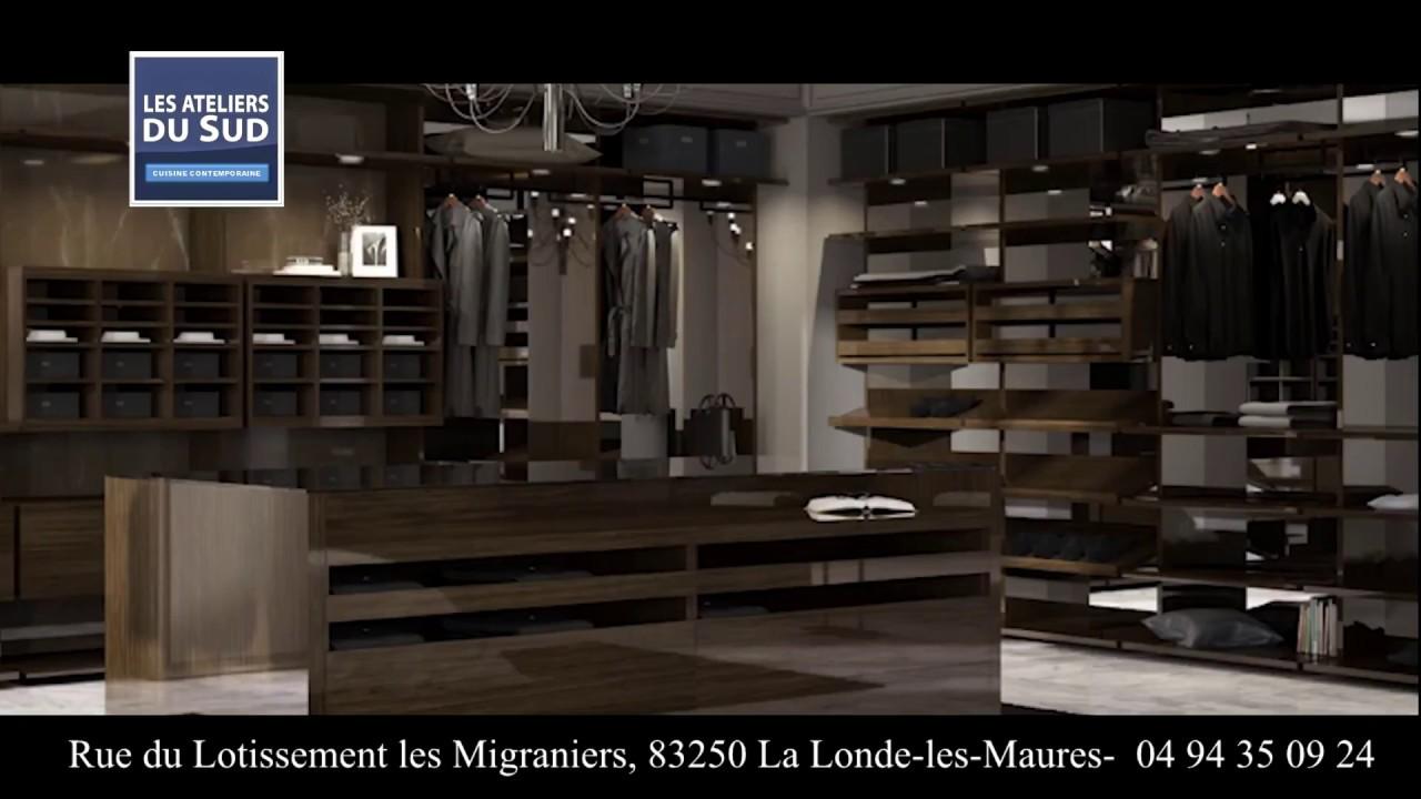 cuisine contemporaine var - Dressing - Décoration SAINT-TROPEZ - YouTube