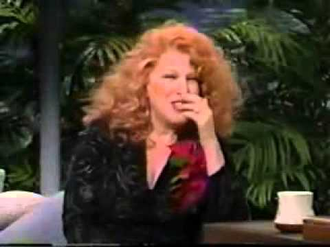 1988 Beaches Interview Johnny Carson Bette Midler Part One - YouTube
