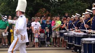 Aug 30 2014 notre dame marching band